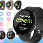 W8 Smart Watch Heart Rate Monitor Weather Forecast Fitness Watch Waterproof Bluetooth Smart Band 9